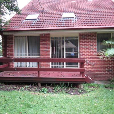 Timber Deck and Pergola - Thornleigh (A) Before