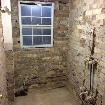 Bathroom Renovation - Manly (B) - Progress 1