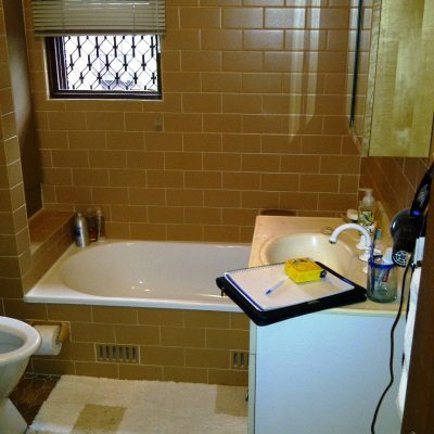 Bathroom Renovation - Lillyfield (A) - Before 1