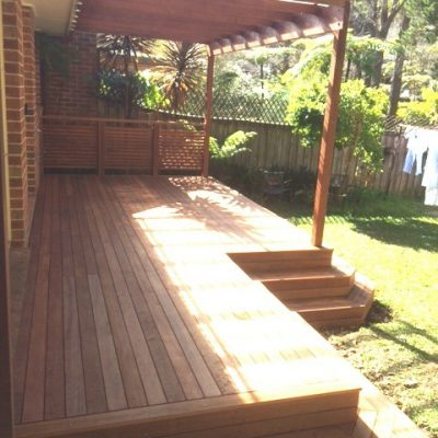 Timber Deck and Pergola - Thornleigh (A) After 1